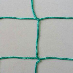 Сетка заградительная 100х100 мм, нить 2,2 мм. Цвет: зеленый, черный