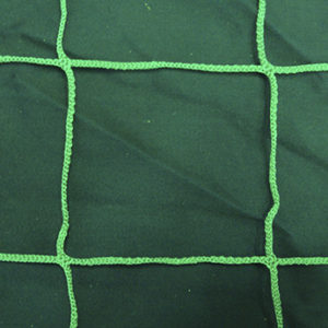Заградительная сетка зеленая ячейка 100 мм