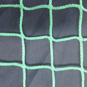 Заградительная сетка зеленая ячейка 20 мм