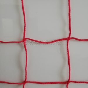 Сетка заградительная 100х100 мм, нить 3 мм. Цвет: синий, красный