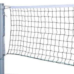 Сетка волейбольная, нить 3 мм, трос ПЭ 6 мм