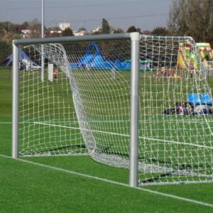 Сетка для футбольных ворот 5х2х1х1,5 м, нить 4 мм