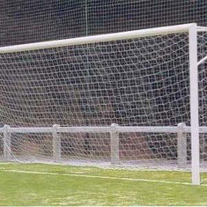 Сетка для футбольных ворот 7,5х2,5х1х2 м, нить 2,2 мм, 2 шт.